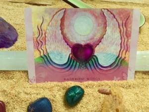 Oracle_card_rainbow_wings_morning_meditation